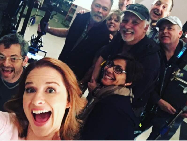 On est au moins aussi contents que Sarah Drew (Grey's Anatomy)