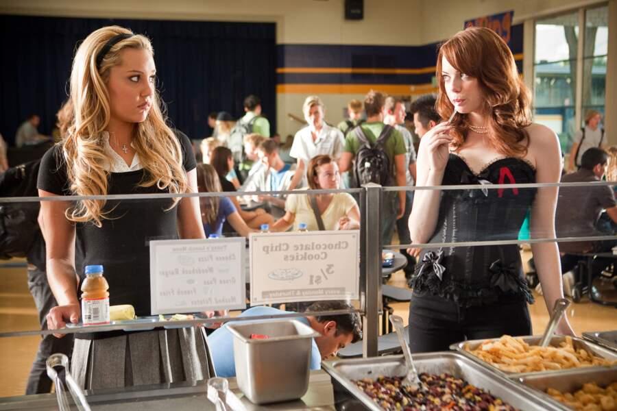 Dans Easy Girl (2011), elle incarne une lycéenne victime des pires rumeurs