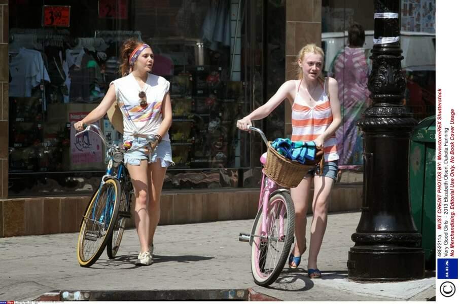 Avec Dakota Fanning dans Very Good Girls (2013)