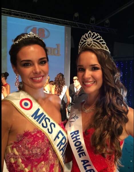 Félicitation à Mlle Thibaut aurore, élue Miss Rhône-Alpes 2014 à Villefranche-sur-Saone.