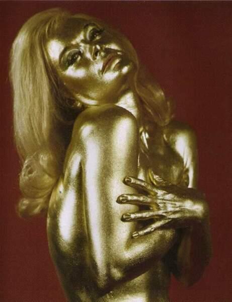 Shirley Eaton dans Goldfinger (1964)