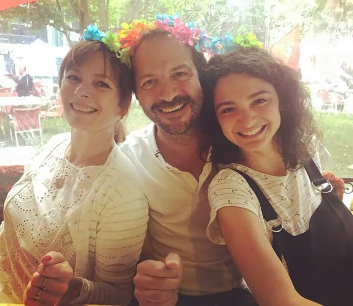 Voici l'une des familles recomposées du feuilleton de France 3