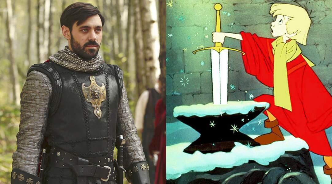 Le roi Arthur (Merlin l'enchanteur)