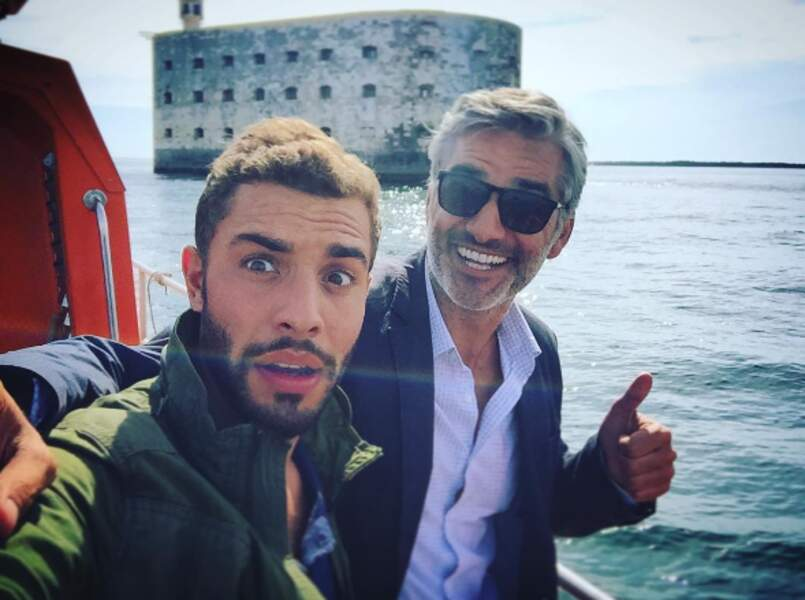 Marwan Berreni tourne le téléfilm de France 3 Le Retour du héros avec François Vincentelli
