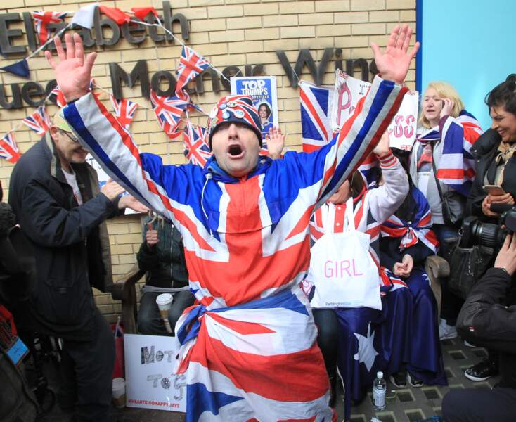 L'annonce a déclenché la liesse des fans de la famille royale