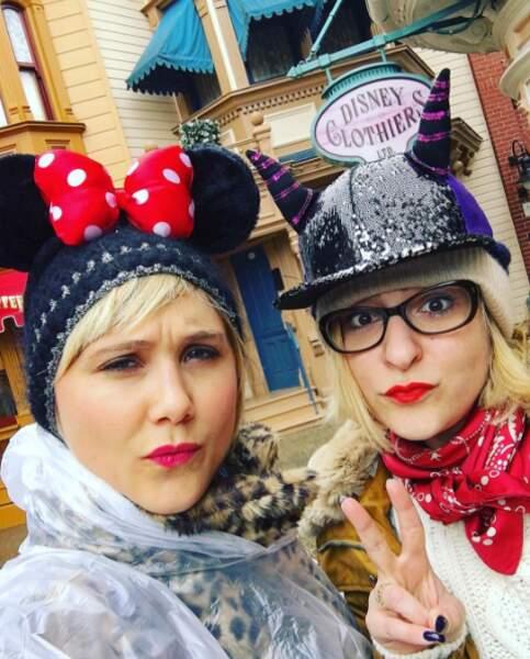 Là c'est un selfie à Disney !