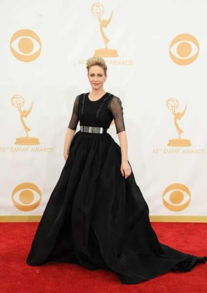 Vera Farmiga, la maman de Bates Motel toute de noir vêtue