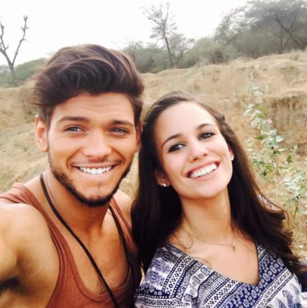 Rayane a retrouvé Lucie Lucas de Clem pour le téléfilm Coup de foudre à Jaipur