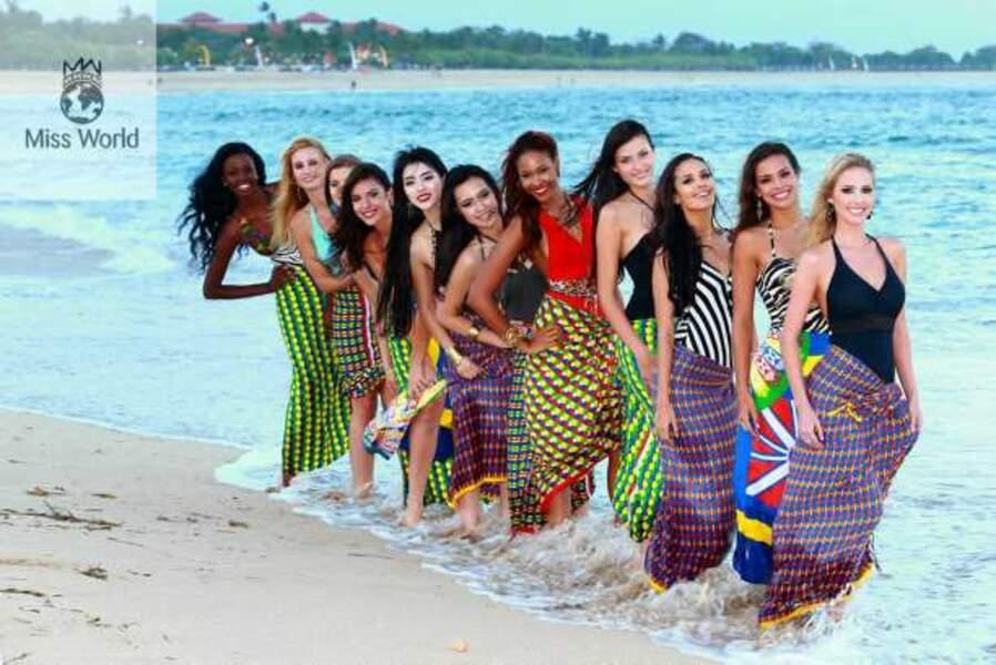 Les finalistes de Miss Beach Fashion