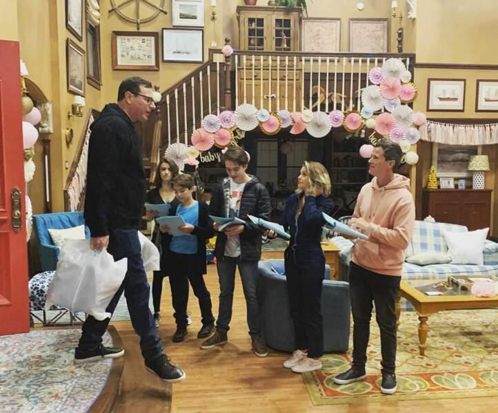 Pour les acteurs de La Fête à la maison, dernière répétition avant que les caméras se mettent à filmer…
