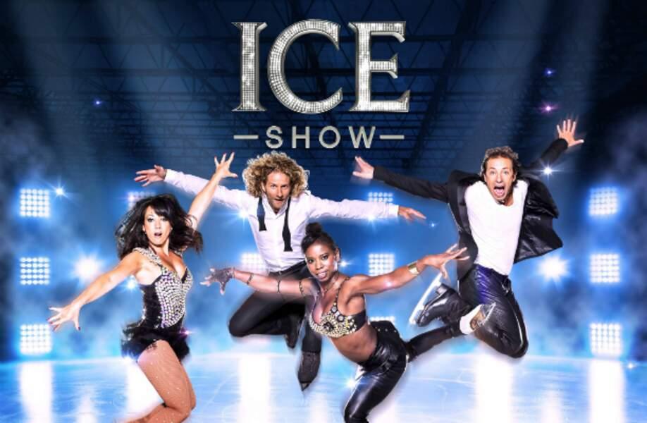 Les quatre coachs du Ice Show
