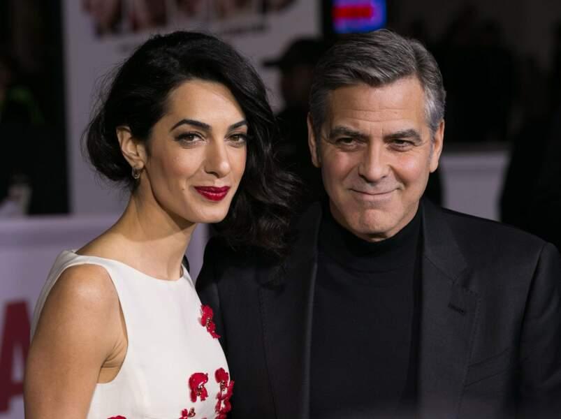 George Clooney serait-il définitivement rangé des voitures ? En tout cas il a l'air amoureux !