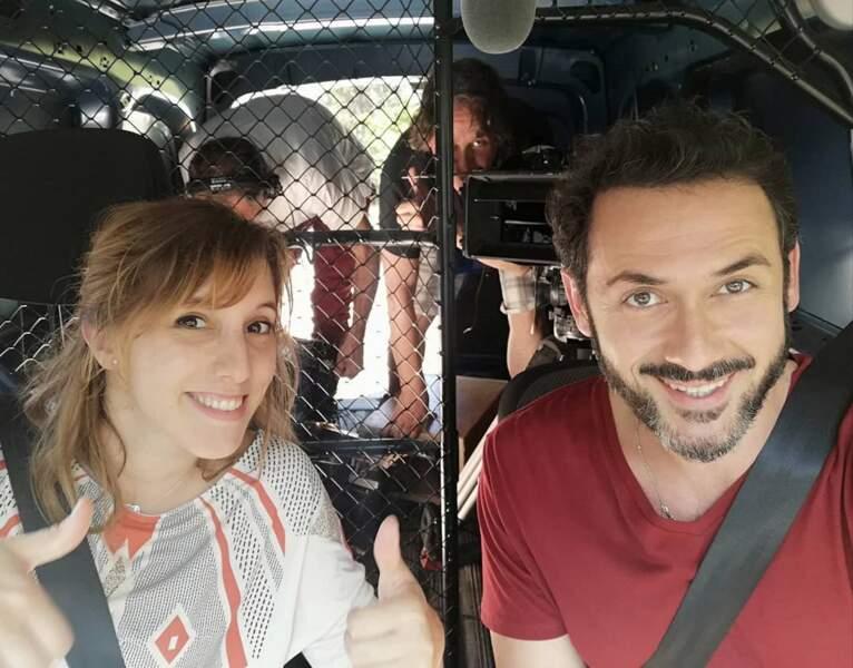 Plus belle la vie encore et petite virée à deux pour Léa François et Emanuele Giogi (Barbara et Francesco)