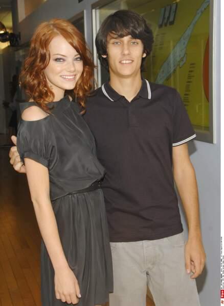 Durant un an elle fréquente l'acteur et chanteur Teddy Geiger (2008-2009)