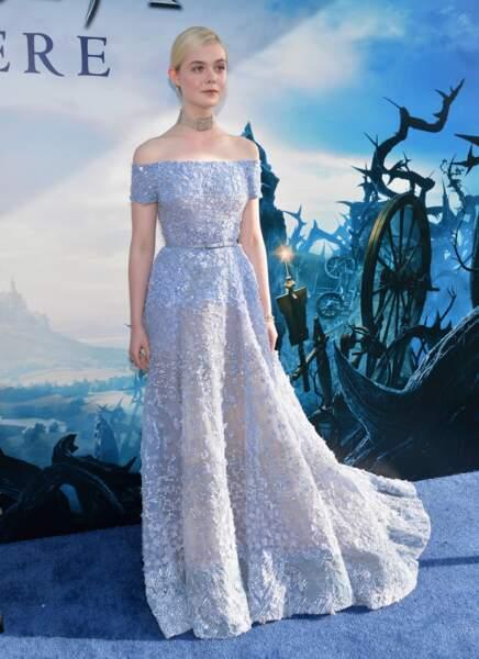 La jeune Elle Fanning, digne de la princesse Aurore de Disney