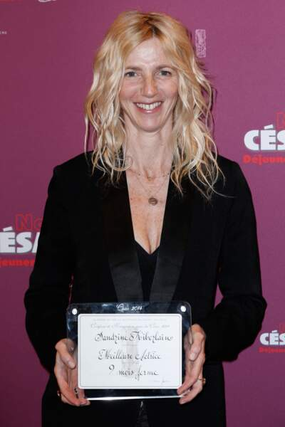 Sandrine Kiberlain - catégorie meilleure actrice pour 9 mois ferme