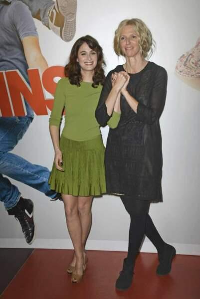 Mélanie Bernier et Sandrine Kiberlain