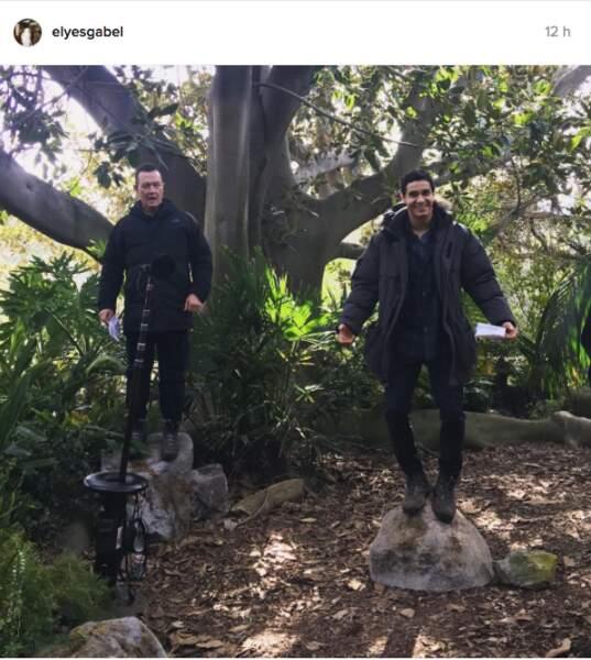 Sur le tournage de Scorpion, Elyes Gabel s'amuse toujours autant