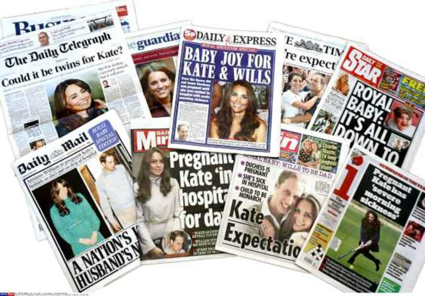 Une grossesse étalée dans la presse people