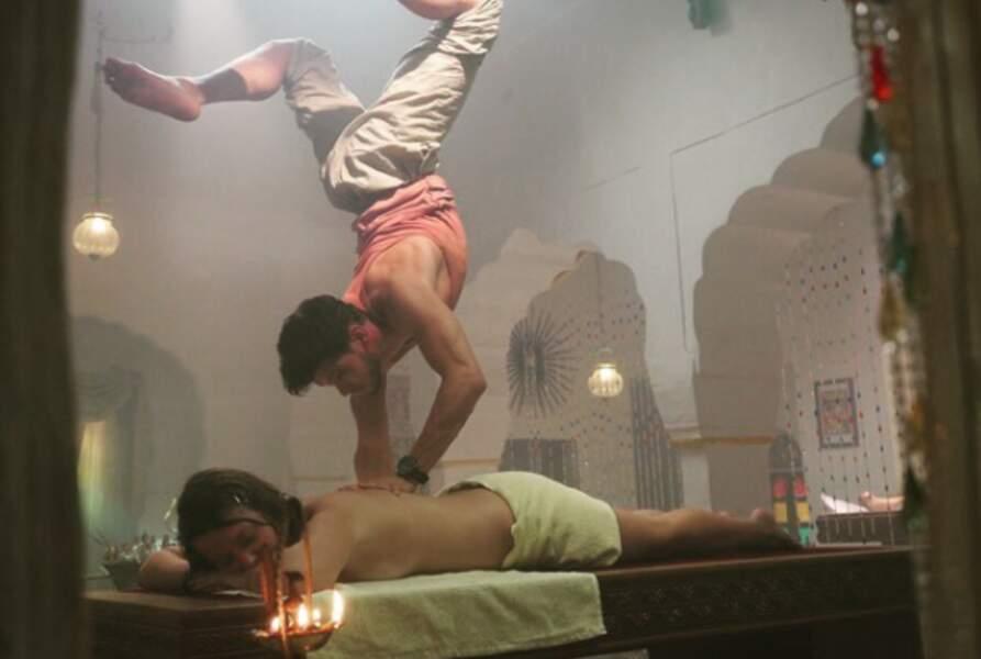 ... Ou d'impressionnantes acrobaties !