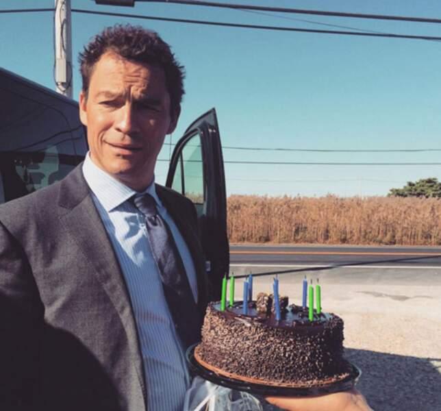 Un joyeux anniversaire (en avance) à Dominic West, sur le tournage de The Affair (saison 4)