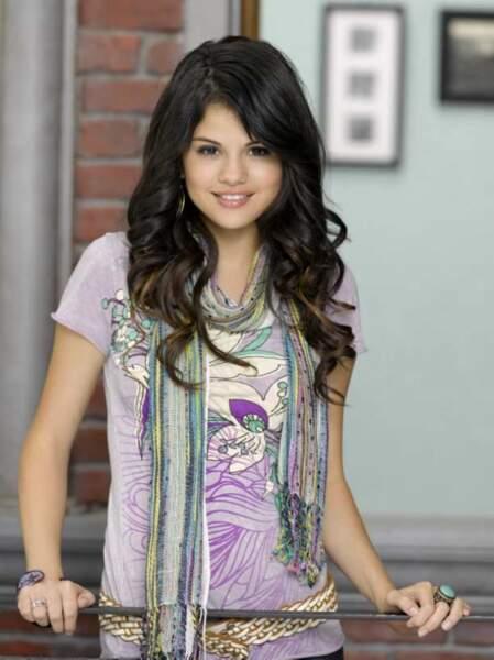 Selena Gomez, petite fille sage des Sorciers de Waverly Place (2007-2010)