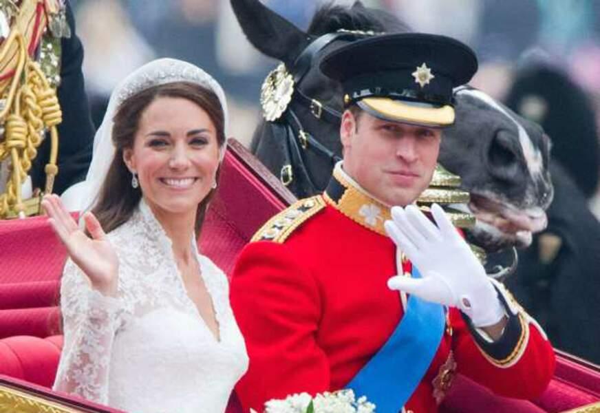 Kate et William, le plus beau jour de leur vie ?