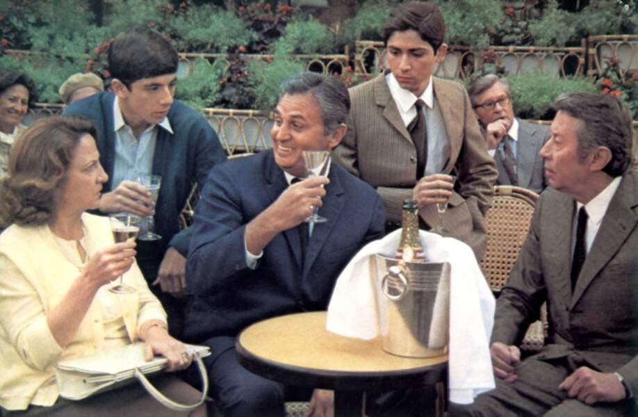 Première collaboration en 1978 avec Alexandre Arcady pour Le Coup de Sirocco (avec M. Villalonga et P. Bruel)