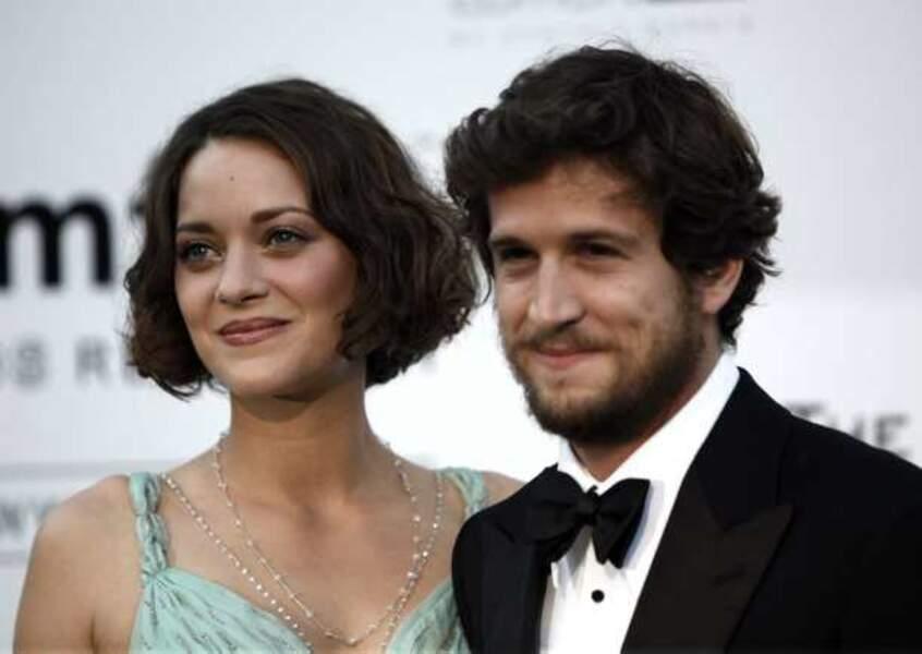 Marion Cotillard et Guillaume Canet en mai 2009 au gala de l'amfAR, dans le cadre du Festival de Cannes