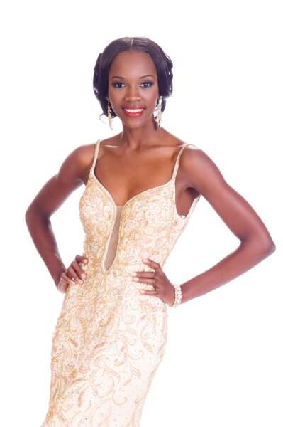 Shanice Williams, Miss îles turques et caraïbes 2014