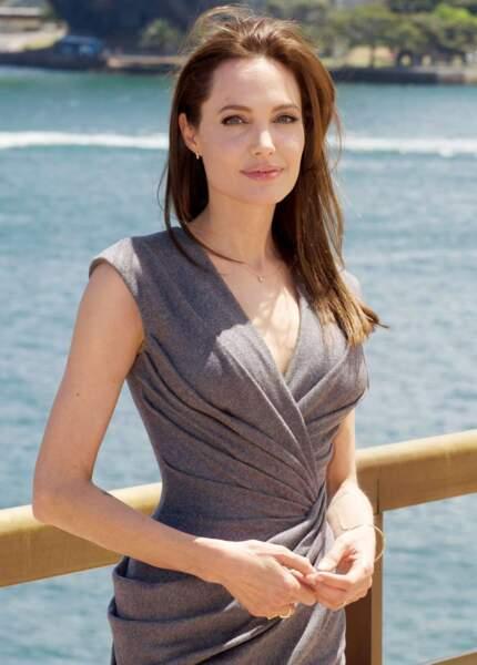 Et pour finir en beauté… Angelina Jolie, 40 ans.