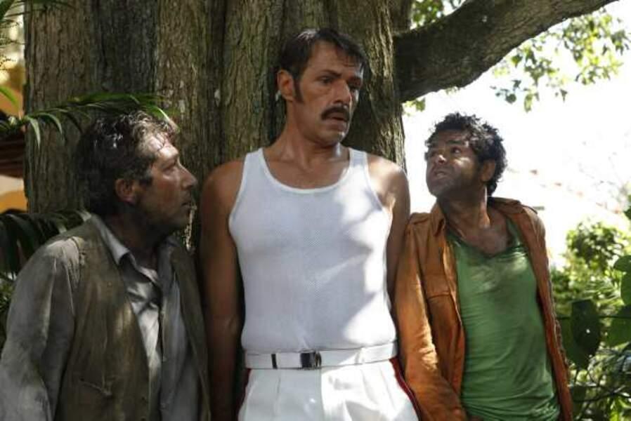 Avec Alain Chabat et Lambert Wilson