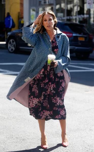 On vous jure: Sarah Jessica Parker a été à la pointe de la mode. Aujourd'hui, normal que sa série s'appelle Divorce
