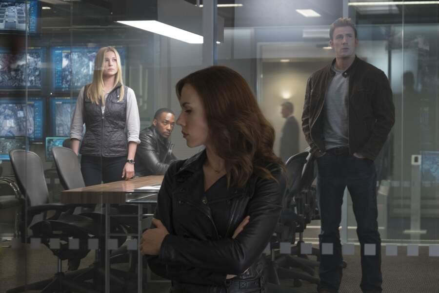 L'heure n'est plus à la rigolade dans Captain America : Civil War (2016)