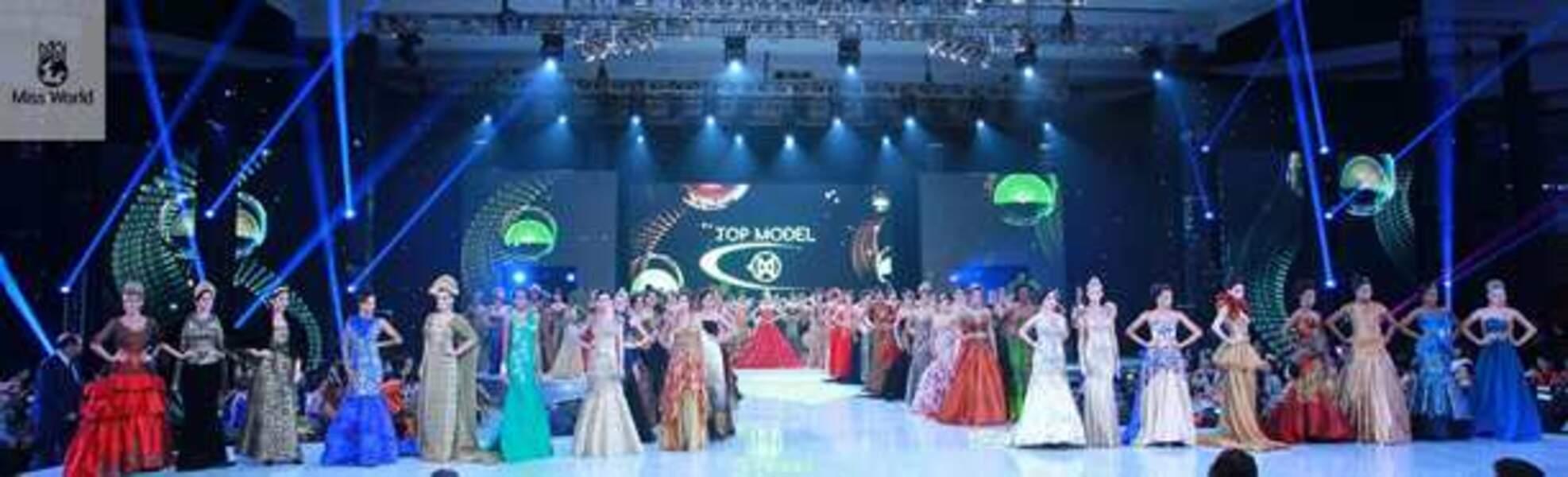 La cérémonie de Miss Top Model