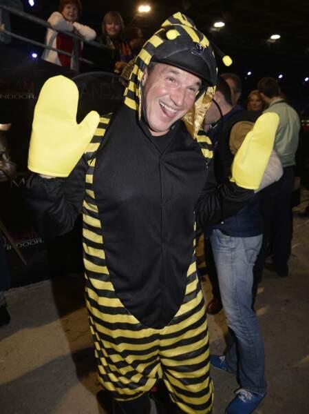 Benjamin Castaldi alias Maya l'abeille