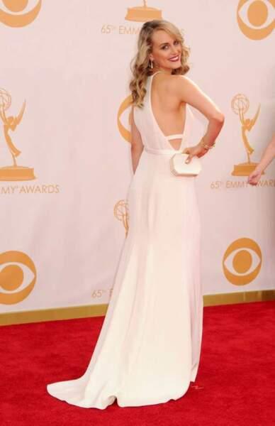 Taylor Schilling, l'actrice d'Orange is the New Black, a choisi le blanc