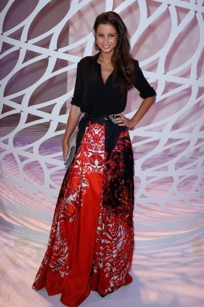 L'ancienne Miss France Malika Ménard