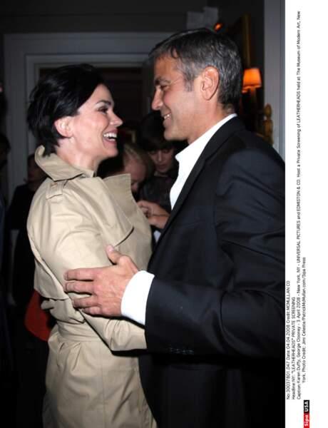 Dans les années 1980, Karen Duffy a partagé la vie de George Clooney.