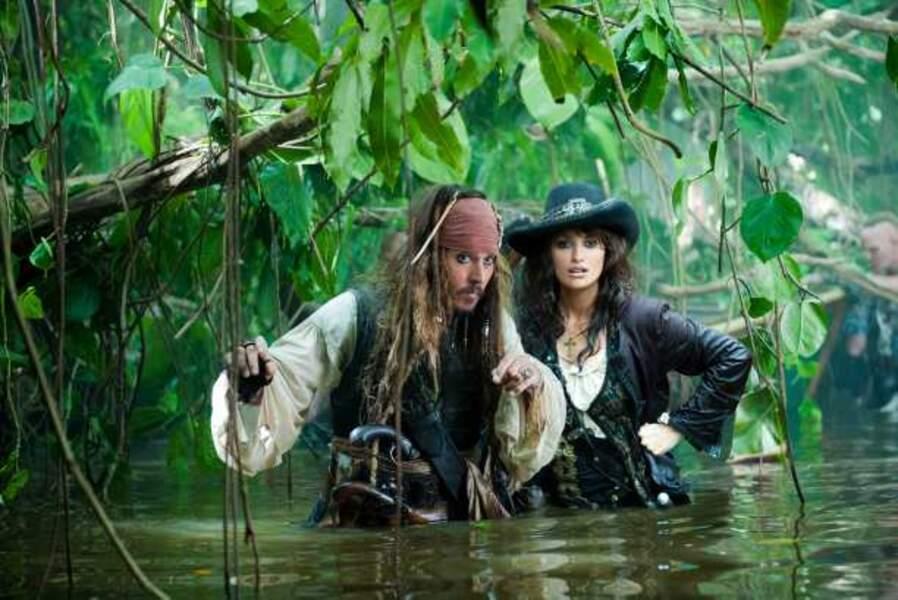 Elle retrouve Johnny Depp dans Pirates des Caraïbes : La Fontaine de jouvence en 2011