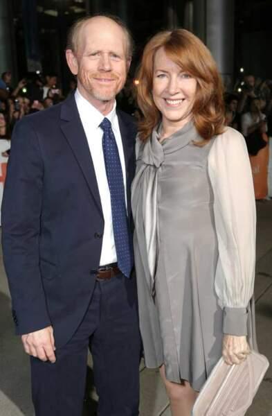 Ron Howard, le réalisateur de Rush et sa femme