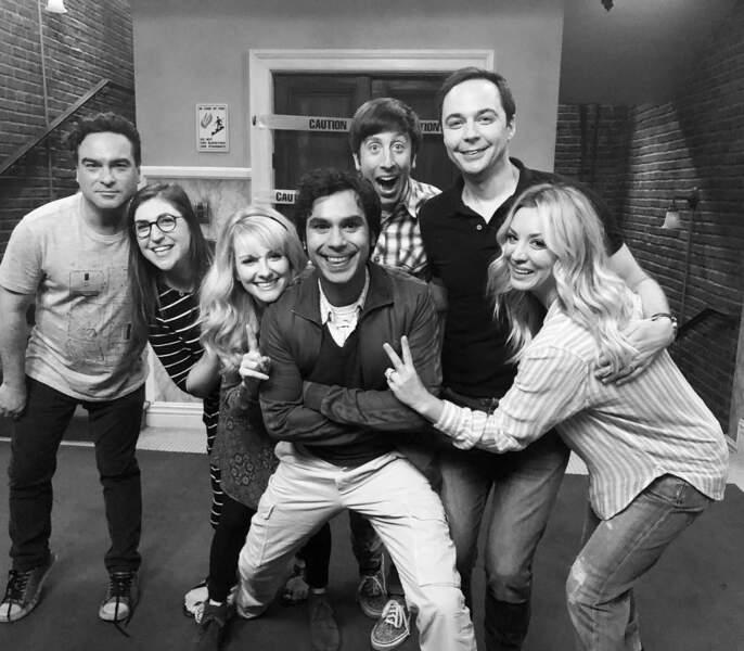 Les comédiens de The Big Bang Theory sont heureux de commencer le tournage de la 12e et ultime saison de la série