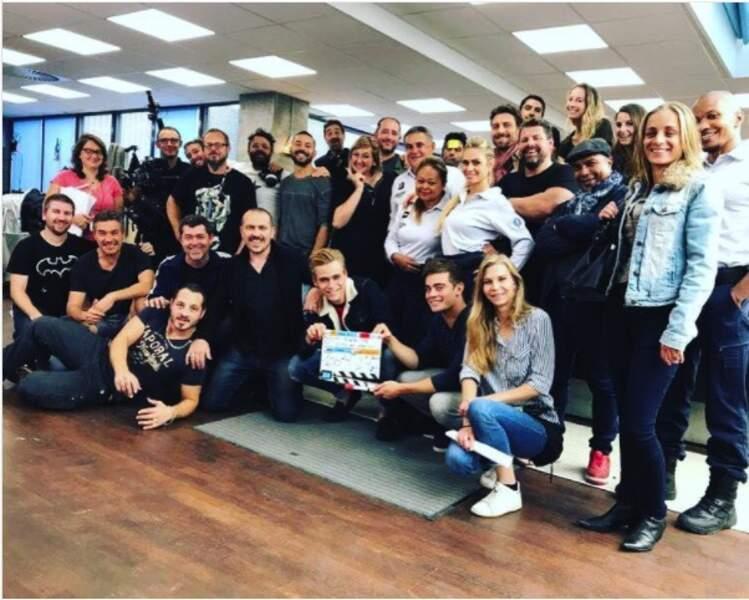 Le 100e jour de tournage, ça se fête pour l'équipe de Demain nous appartient !