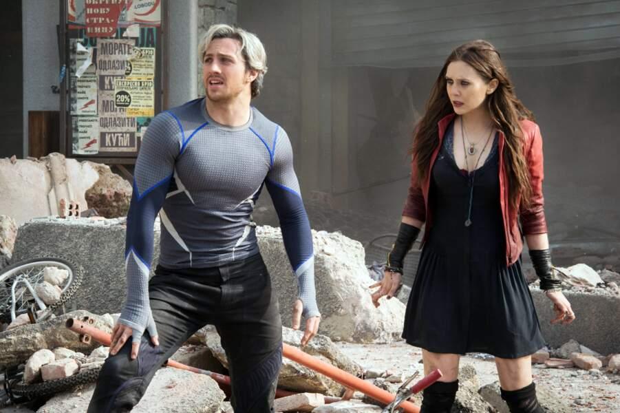 Elle passe aux choses plus sérieuses avec Avengers : l'Ere d'Ultron, énorme carton au box office mondial (2015)