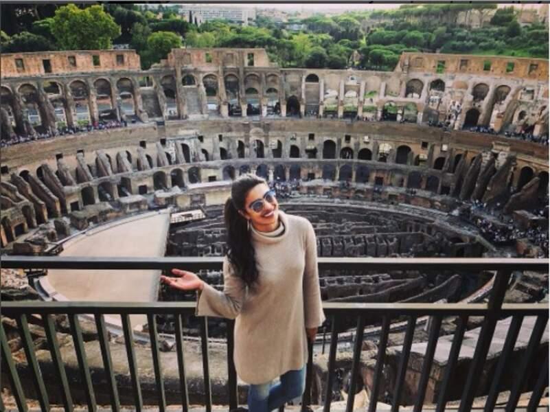 … là, le Colisée
