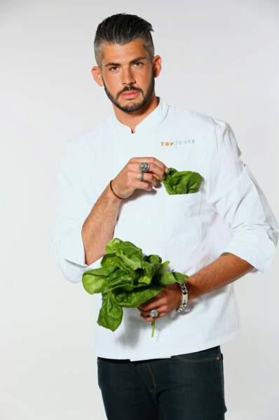 Jérémy Brun, 25 ans, second de cuisine au Chantecler (Nice)