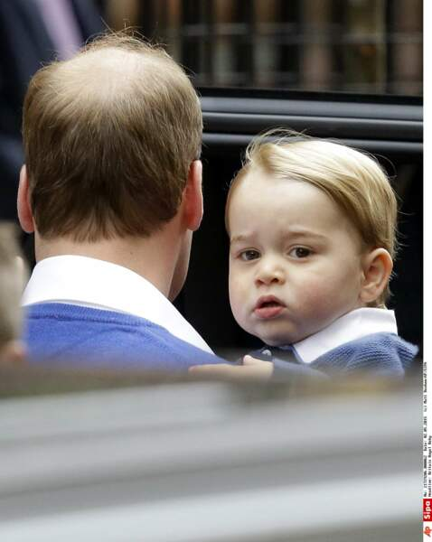 Trop mignon, baby George !