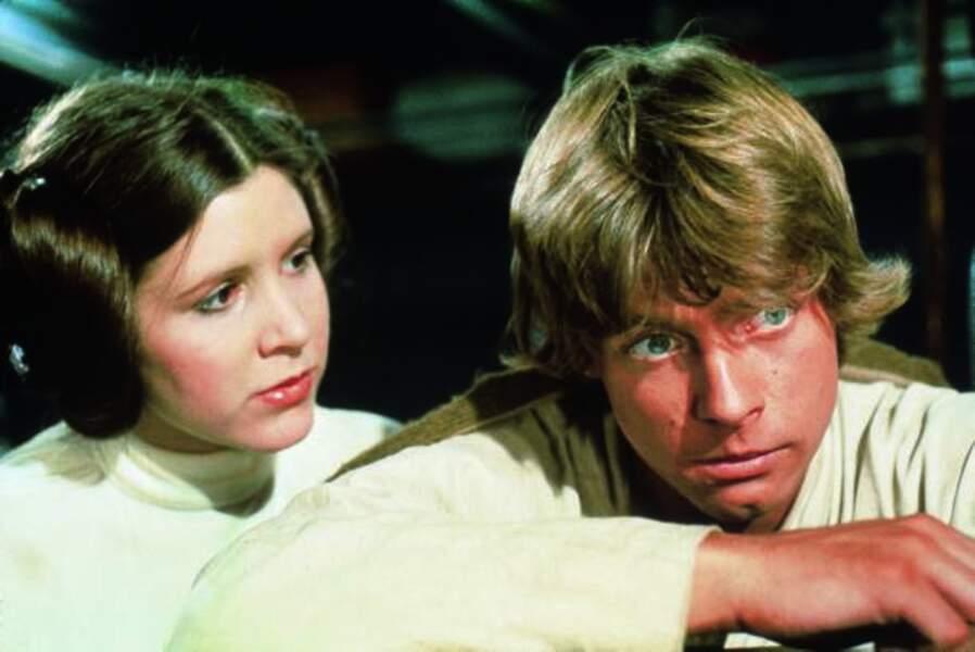 La Princesse Leia et Luke Skywalker