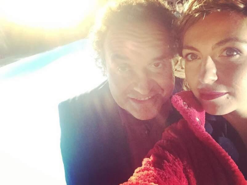 Grégoire Bonnet et Amélie Etasse, le couple de Scènes de ménages a l'air soudé