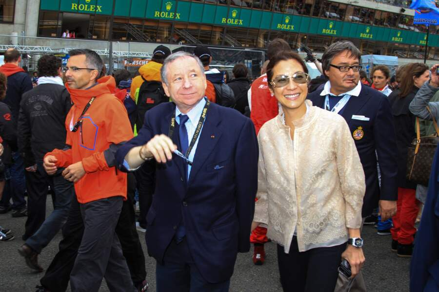 Jean Todt et sa compagne Michelle Yeoh